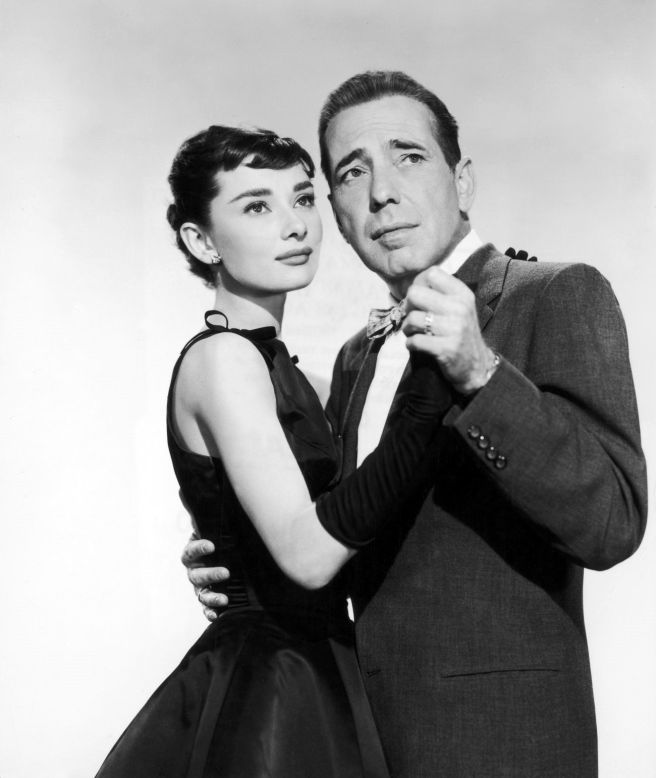 Audrey Hepburn and Humphrey Bogart in Sabrina Courtesy of Paramount.com