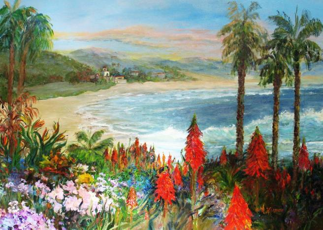 Laguna Beach Art A Fair Artist Marjorie Kinney Courtesy of Facebook.com:ArtAFairLagunaBeach