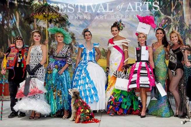 Laguna Beach Festival of the Arts Festival Runway Fashion Show August 18 2019 Courtesy of foapom.com