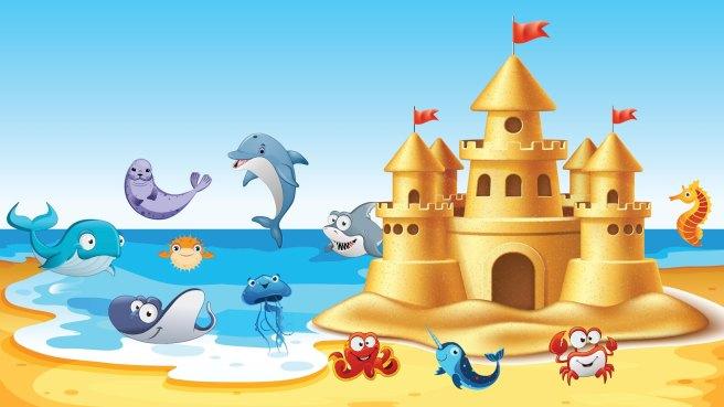 Corona del Mar Sandcastle Contest Sunday September 29 2019