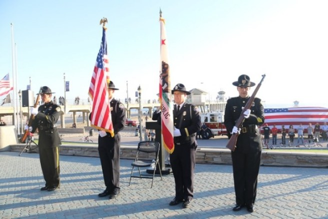Huntington Beach Patriot Day Ceremony Courtesy of American Legion Post 133