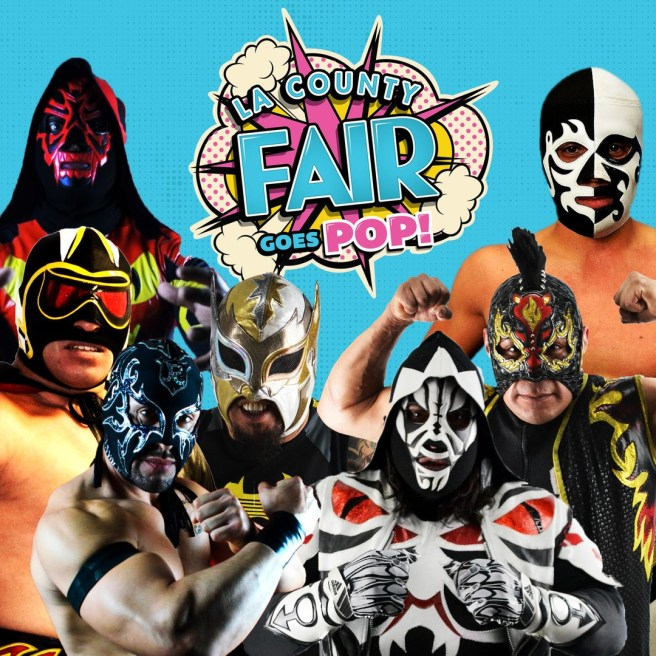 LA County Fair September 14 and Septembe 15 2019 Legends of Wrestling