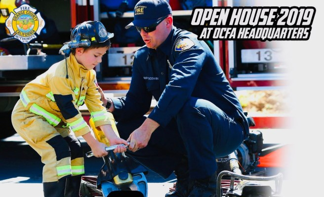 Orange County Fire Authority Irvine Open House Saturday October 5 2019