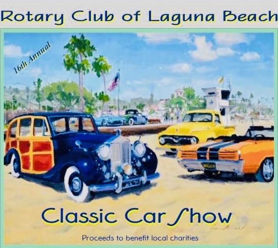 Laguna Beach Classic Car Show Sunday October 6 2019