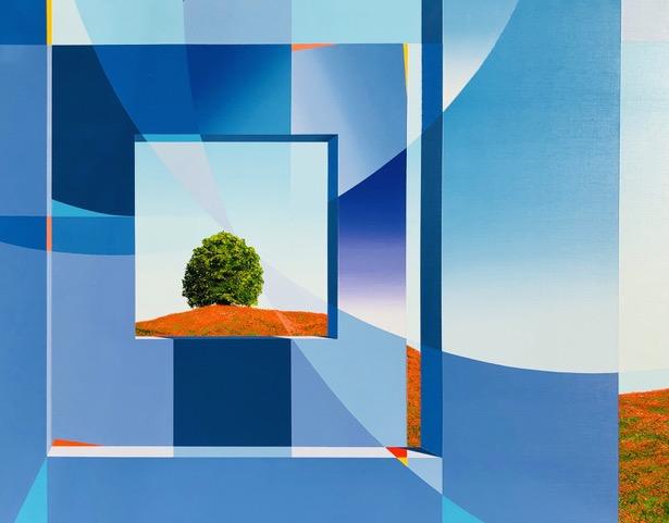 Blue Sky Thinking by Steve Perrault Featured at Laguna Beach Avran Fine Art Courtesy of FirstThursdaysArtWalk.com