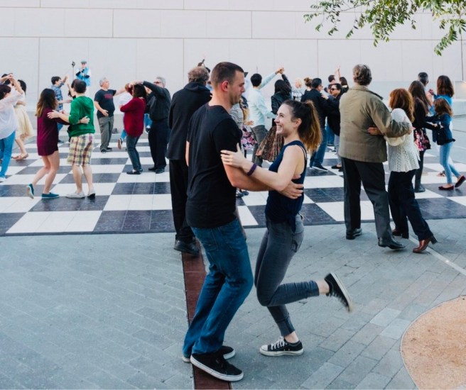 Dance Party Courtesy of Segerstrom Center For The Arts