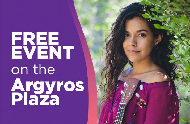 Orange County Segerstrom Argyro Plaza Presents Kelly Caballero October 2019