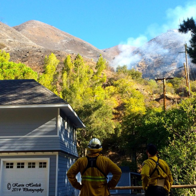 Orange County Fire Watch Courtesy of Karin Horlick