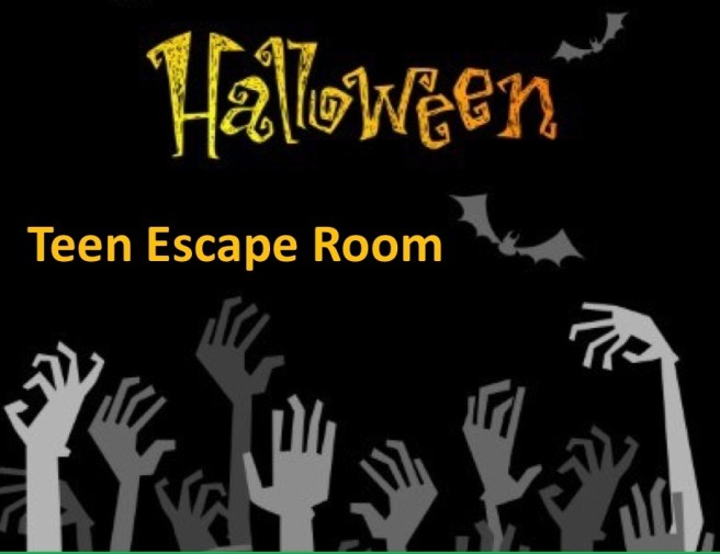 Dana Point Public Library Teen Escape Room October 2019