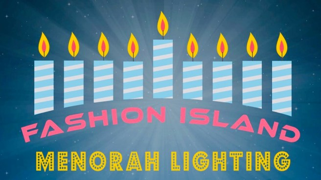 Newport Beach Fashion Island Menorah Lighting Sunday December 22 2019