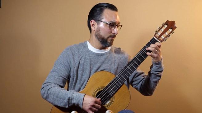 Guitarist Andre Giraldo