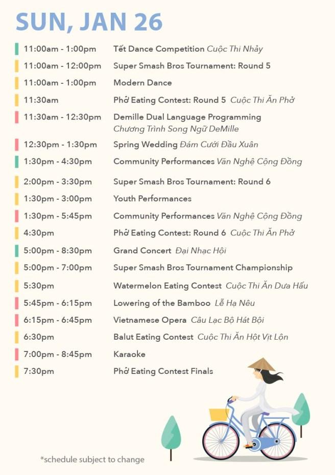 Orange County Fairgrounds Tet Festival Schedule January 26 2020
