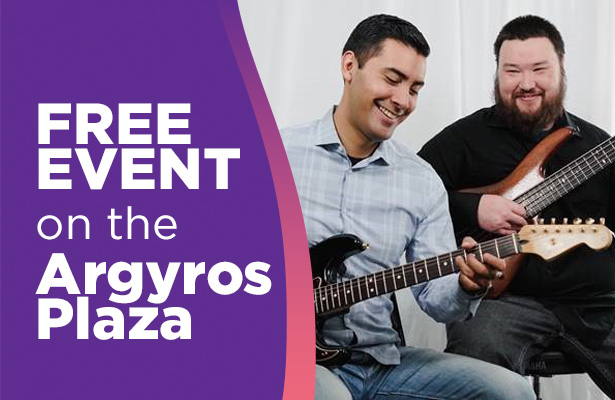 Jeff and Luis Duo at Segerstrom Center January 11 2020