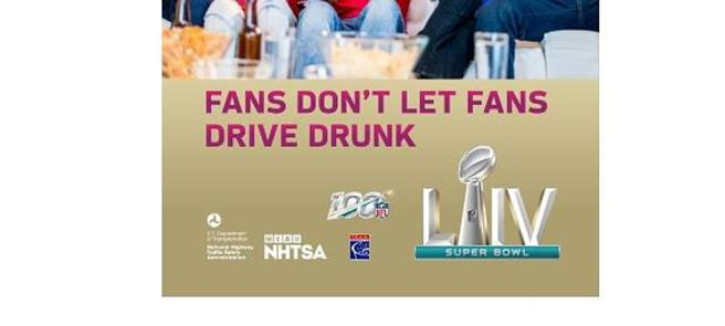 NHTSA Super Bowl 2020 PSA