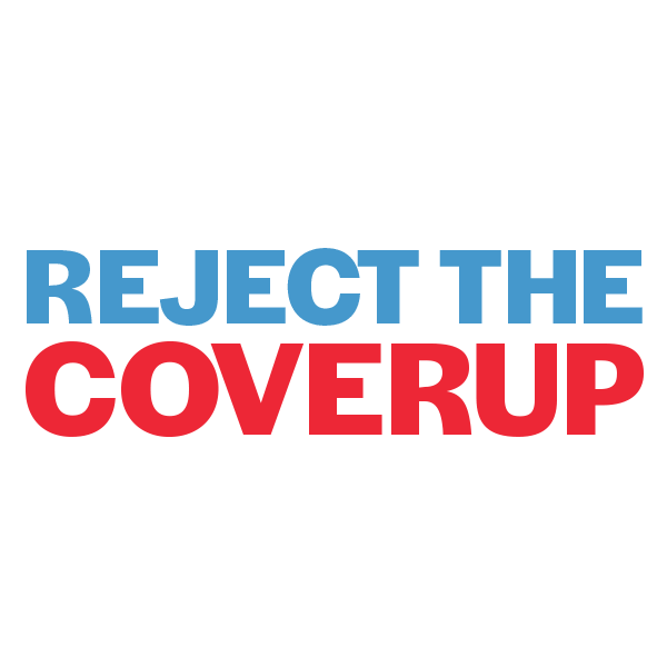 Reject the Cover Up Protest February 5 2020