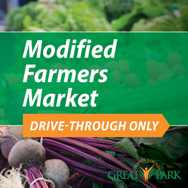 Irvine Great Park Modified Farmers Market Sunday March 22 2020