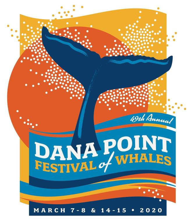 Dana Point Festival of the Whales March 2020 Logo