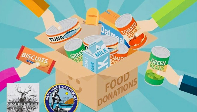 Dana Point Food Drive May 2 2020