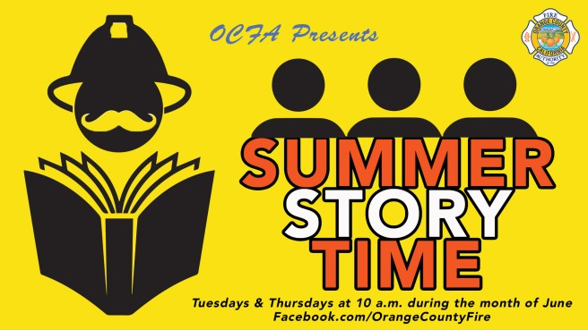 Orange County Fire Authority Virtual Summer Story Time 2020