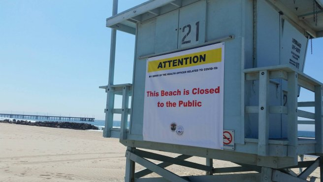LA County Beaches:LA County Piers:LA County Bike Paths closed July 3 2020 July 6 2020 Courtesy of Beaches and Harbors Los Angeles County Facebook Page