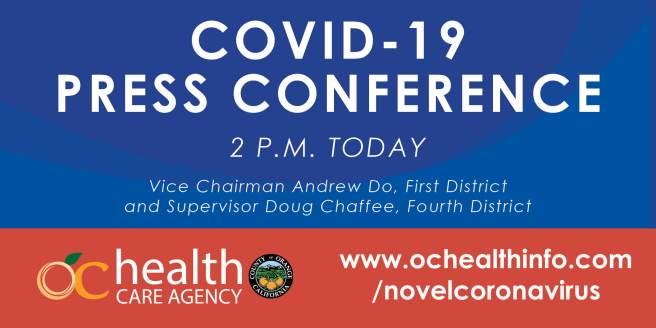 Orange County California COVID19 Facebook Live Press Conference June 30 2020