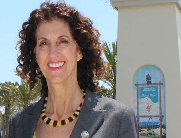 Dana Point Councilmember Debra Lewis Courtesy of The City of Dana Point