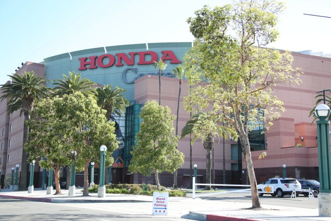 Honda Center UCI Blood Drive Courtesy of UCI Irvine Health Facebook Page