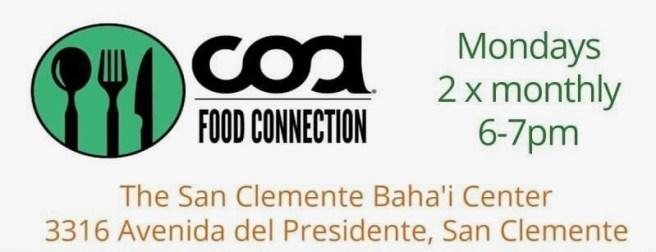 COA Community Outreach Alliance San Clemente Calfiornia Free Food Distribution 2020
