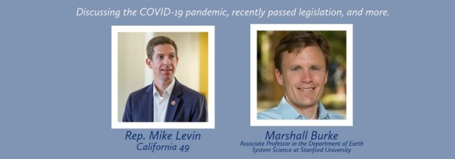Congressman Mike Levin Virtual Town Hall Wednesday September 30 2020
