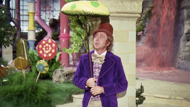 Gene Wilder in Willy Wonka and The Chocolate Factory Courtesy of Paramount Pictures