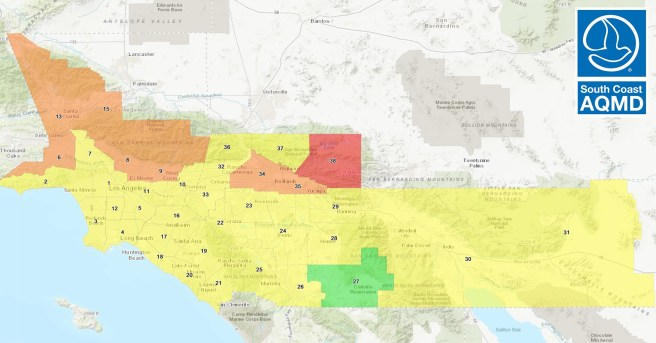 Orange County Air Quality Saturday September 19 2020