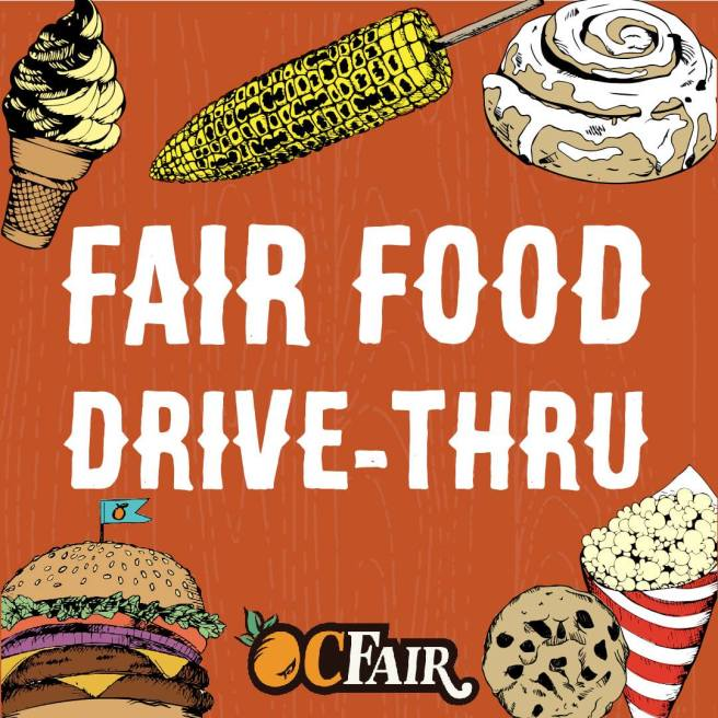 Orange County Fair Food Drive Thru October 2020