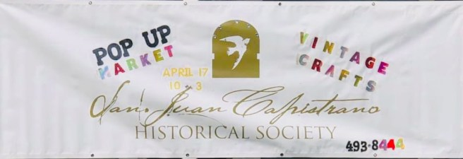 San Juan Capistrano Los Rios Street Vintage Pop Up Saturday April 17 2021