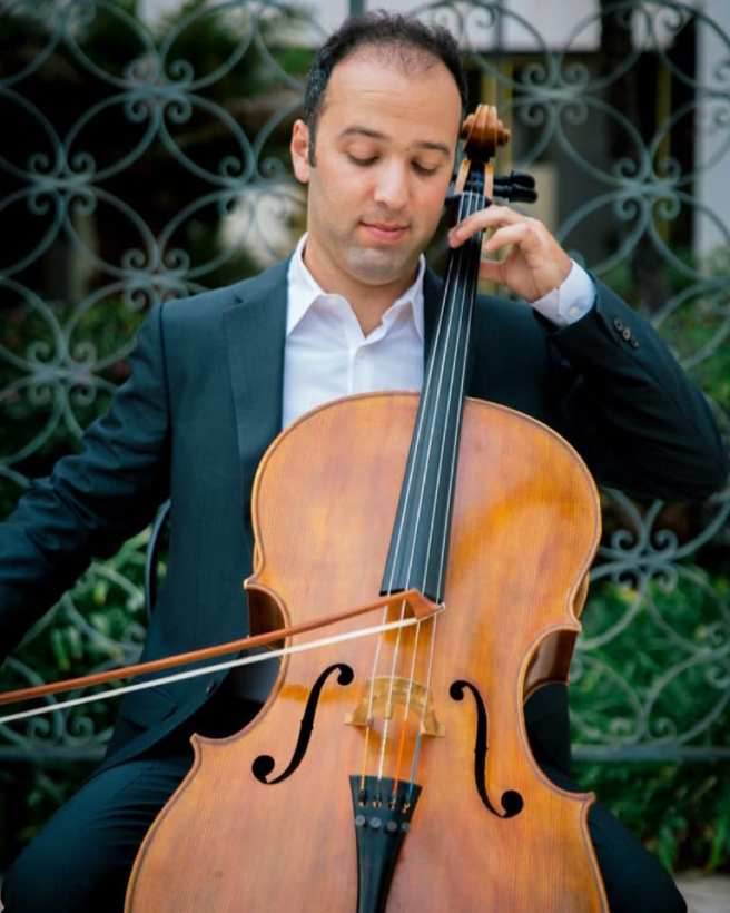 Cellist Alex Greenbaum Courtesy of Laguna Beach Live!