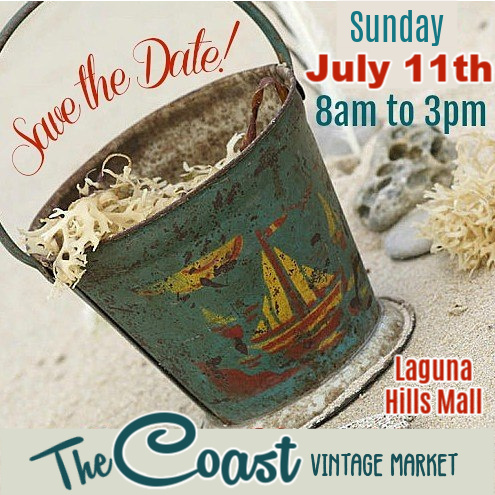 Coast Vintage Market at Laguna Hills Mall Sunday July 11 2021