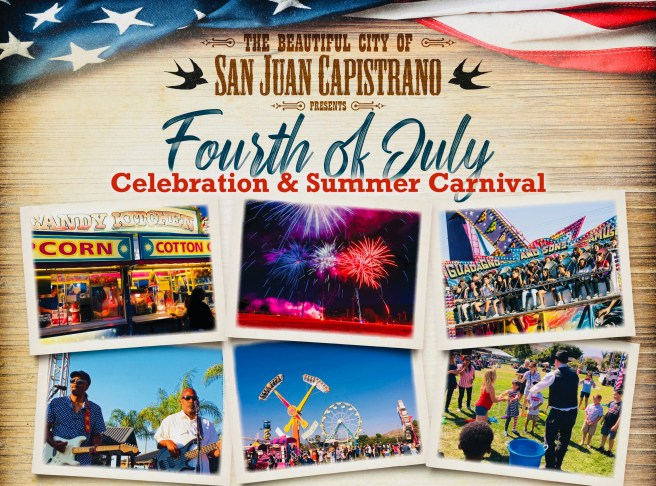 San Juan Capistrano California 4th of July 2021 Weekend Carnival