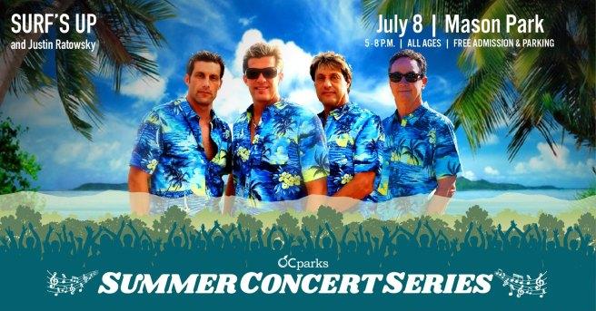 OC Parks Free Summer Concerts July 8 2021