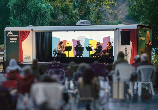 Orange County Pacific Symphony On The Go Summer 2021 Courtesy of Pacific Symphony