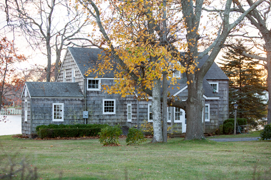 The Second Parsonage on Hobart Road, Southold. Photo: Katharine Schroeder