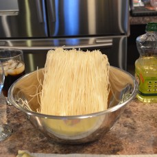 Rice sticks or Rice noodles
