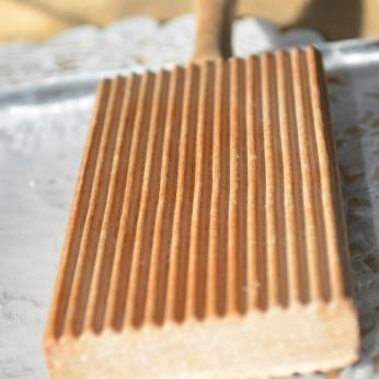 wood pattern to create seashell