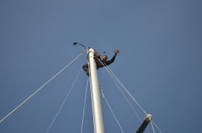 soon had the mast tangle sorted