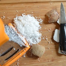 grated for sauce ingredient