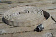 old fire hose, is a great anti chafe guard for dock lines