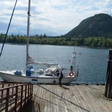 Docked at Port Neville