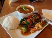 Lunch at Khao Sarn Thai Cuisine, Pretty good
