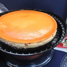 Flan bought from Costco