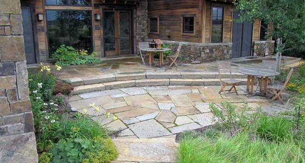 paving stone landscape design