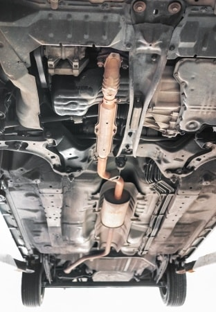how long does an exhaust system hanger