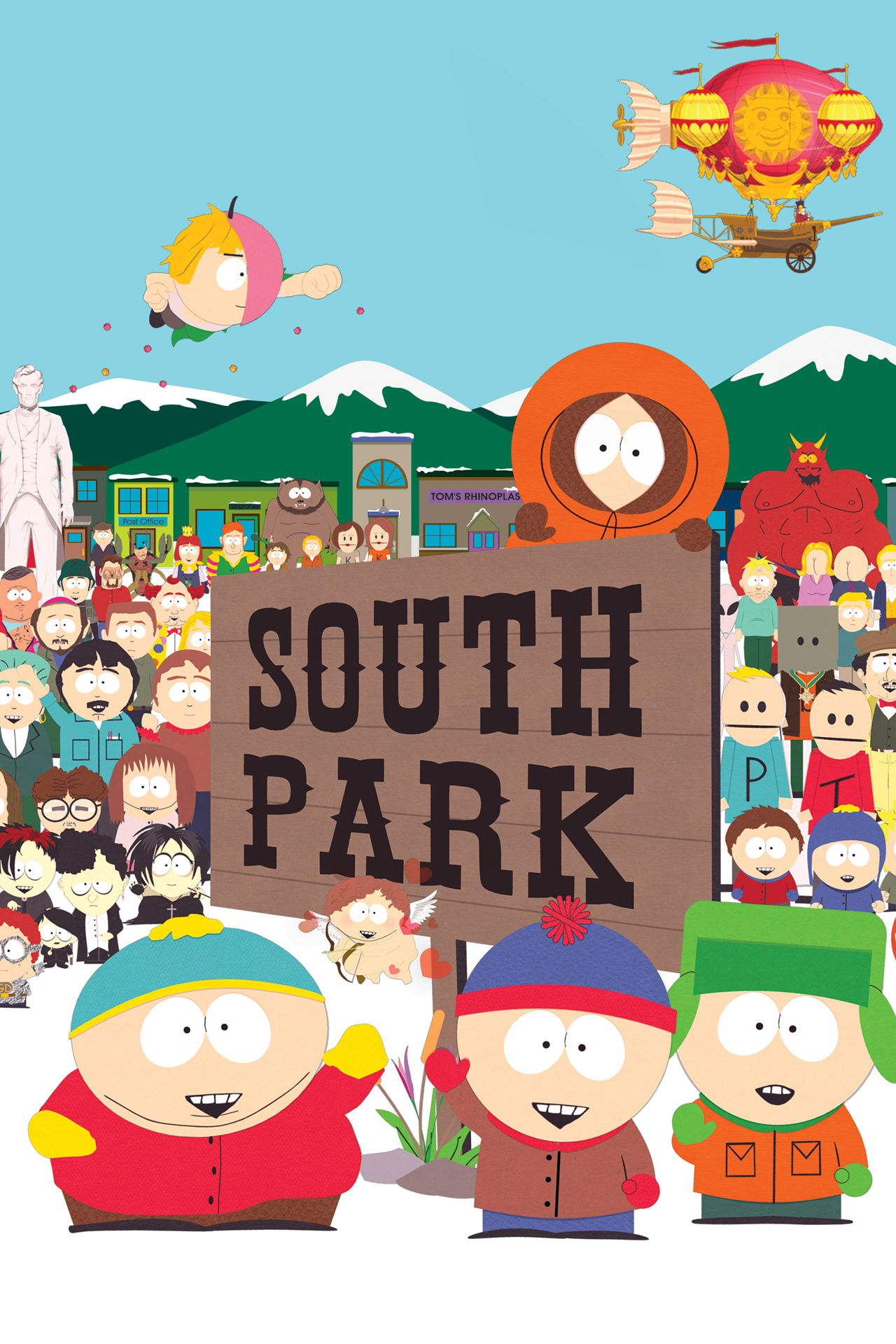 South Park Time To Get Cereal : south, cereal, South, Season, Series, Studios